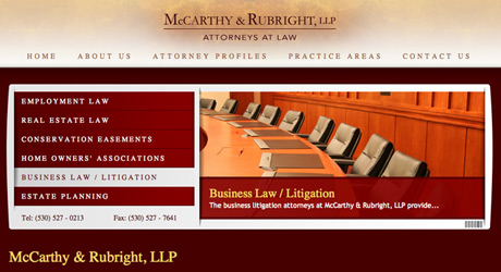 Lawfirm Web Design