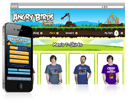 Angry Birds Tees